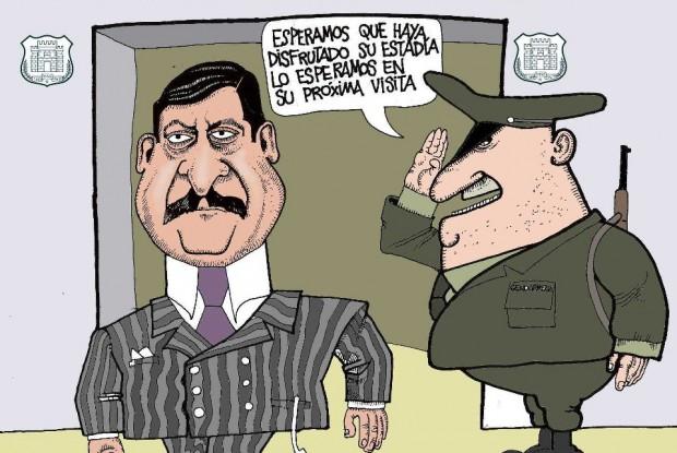 Los beneficios carcelarios de Alvaro Corbalán ¡ASESINO!