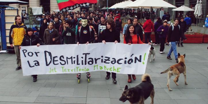 Desmilitarización del territorio mapuche! - El Quinto Poder