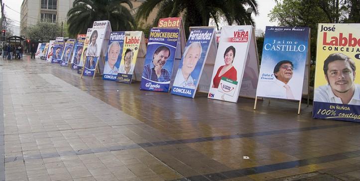 Resultado de imagen para propaganda electoral chile