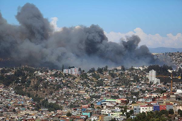 Del #27F al incendio de Valparaíso: la protección civil y el principio de precaución