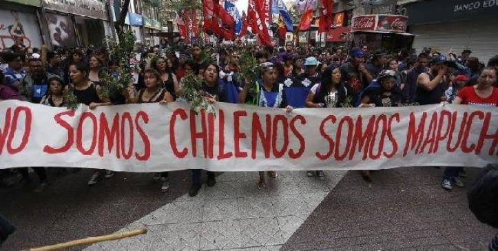 No somos chilenos, somos Mapuche - El Quinto Poder