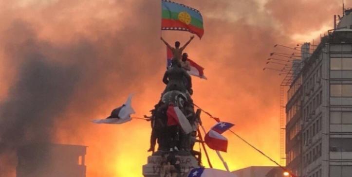 Resultado de imagen para bandera chilena mapuche